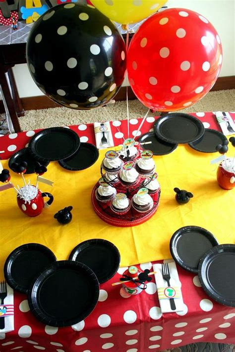 Mickey Mouse Birthday Decorations by Kara S Ideas Mickey Mouse Clubhouse Birthday