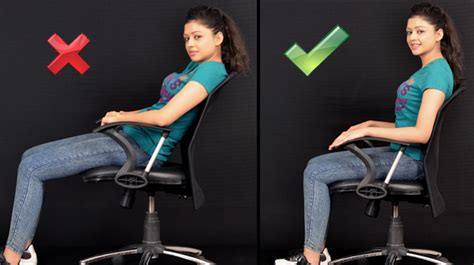 how to a to sit how to sit correctly with posture pictorial guide staywow