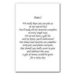 wedding poem cards the card gallery latest news