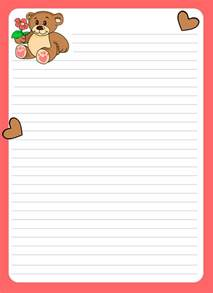 Designer Writing Paper Marcos Para Escribir Cartas De Amor