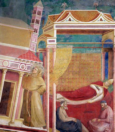 Wonderful St Francis Church San Francisco #2: Giotto_-_Legend_of_St_Francis_-_-06-_-_Dream_of_Innocent_III.jpg