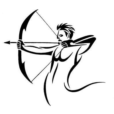 tribal sagittarius tattoo designs 14 stunning sagittarius tribal tattoos only tribal