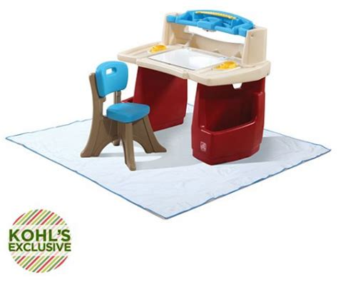 Playskool Desk by Step2 Deluxe Desk With Splat Mat Only 67 99 Free