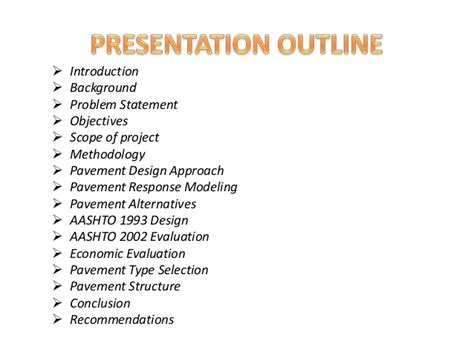 ppt templates for final year project final year project ppt the future of pavement design