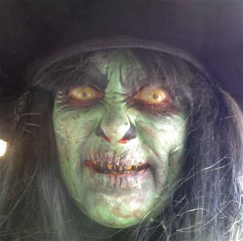 scary witch makeup like comment repin witchie poohs