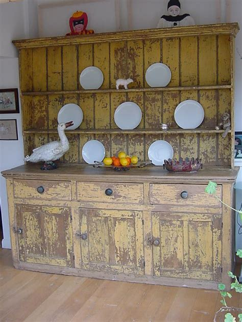 Home Decorative Items distressed kitchen dresser antique cupboards and dressers