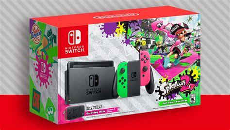 Dijamin Nintendo Switch Accessory Set Splatoon 2 Edition nintendo switch splatoon 2 bundle to hit walmart stores on sept 8