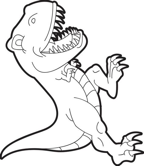 free coloring pages t rex rex coloring online free printable kids colouring pages t