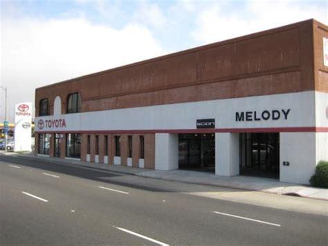 Melody Toyota Service Melody Toyota Car Dealership In San Bruno Ca 94066