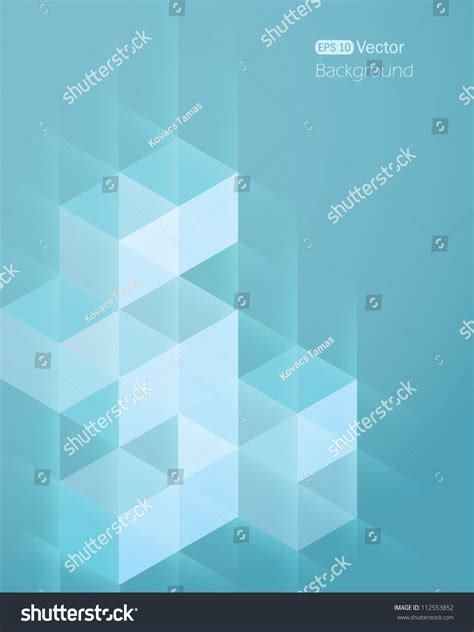 abstract background cube 2 stock vector 112553852