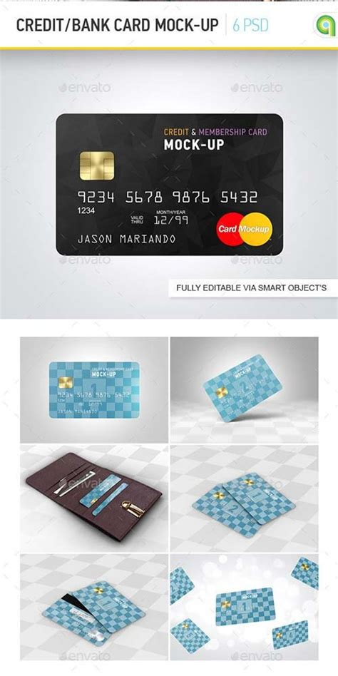 clear bank card template photoshop product mockups 187 page 3 187 free print templates graphic