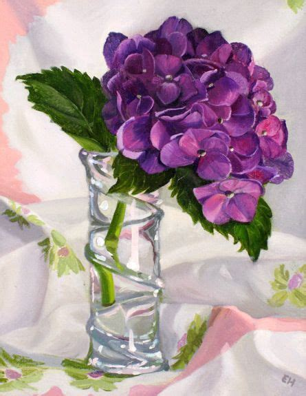 hydrangea painting on canvas hydrangea painting on canvas hydrangea oil on canvas