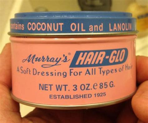 Pomade Hair Glo murray s hair glo pomade review pomade