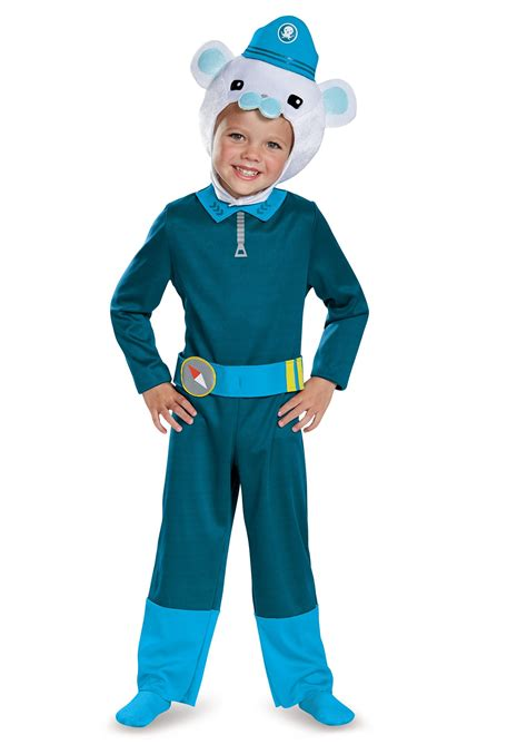 octonauts captain barnacles classic boys costume