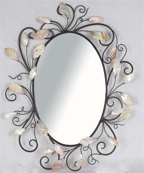 cool decorative oval mirrors bathroom decorating ideas amusing style and white color pastel wall cool table