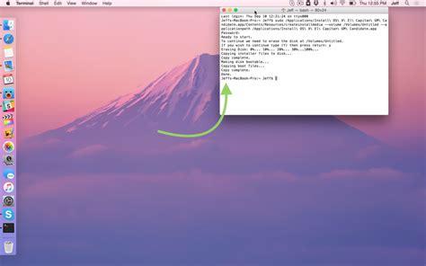 membuat usb bootable el capitan cara membuat usb install disk untuk os x el capitan dengan