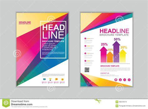 c brochure template vector brochure template set c stock vector image 68244514
