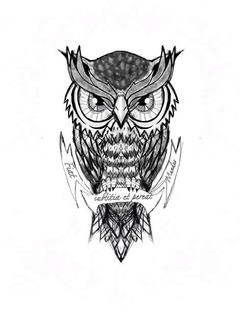 black and white owl tattoo black and white owl design www pixshark