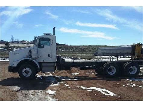kenworth chassis kenworth t800 cab chassis trucks for sale used trucks on