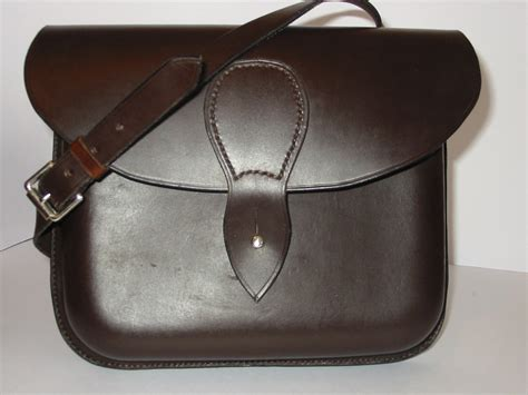 Handcrafted Leather Bag - handmade leather bag