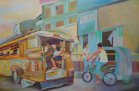 jeepney philippines drawing philippine scene quot jeepney quot efcruz foundmyself