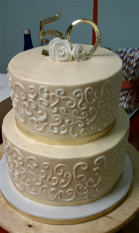 Cake, Hope, and Love: 50th Wedding Anniversary Cake