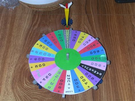 17 Best Images About Wheel Of Fortune On Pinterest Plays Wheels And Carnivals How To Make Your Own Wheel Of Fortune
