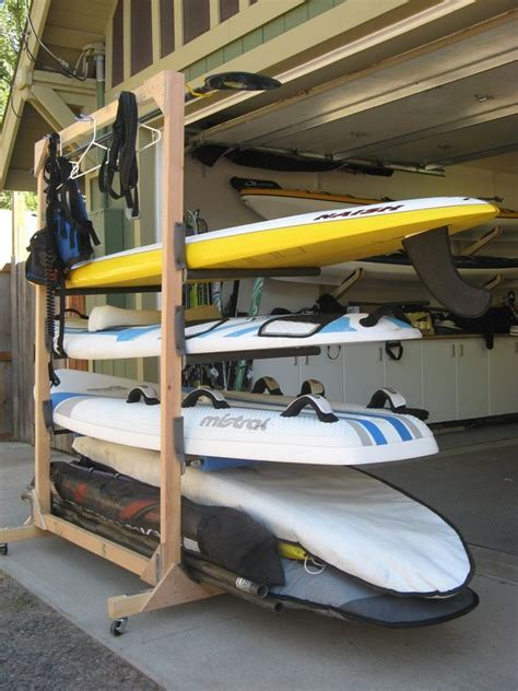Surfboard Garage Storage Ideas 22 Best Images About Sup On Kayak Rack