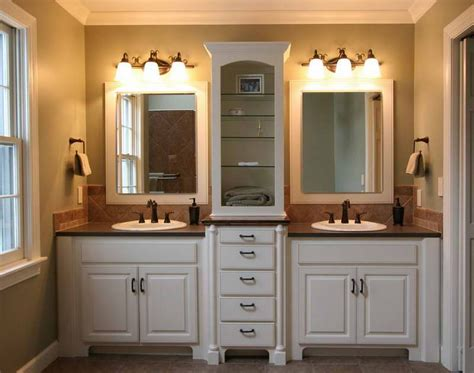 bathroom vanity mirror and light ideas agreeable double vanity with marble top also wall lights