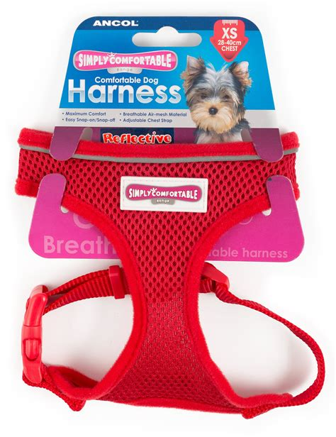 Simply Comfortable Harness by Ancol Simply Comfortable Mesh Harness Xs At