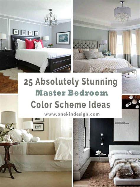 master bedroom color schemes one kindesign