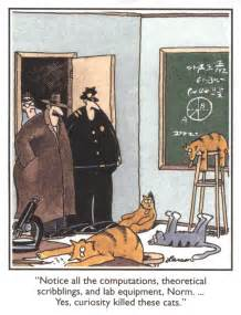 13 the far side comic strips featuring cats