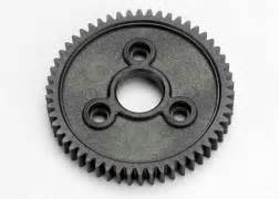 Traxxas 3958 Spur Gear 58 Tooth 0 8 Metric Pitch jato 3 3 55077 1 transmission assembly exploded view traxxas