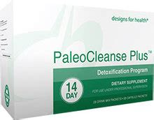 Paleo Cleanse Detox Designs For Health by Designs For Health Paleocleanse Plus 14 Day Detoxification