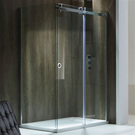 Shower Doors 1200mm Chlain Ii 8mm Frameless Sliding Shower Door 1200mm