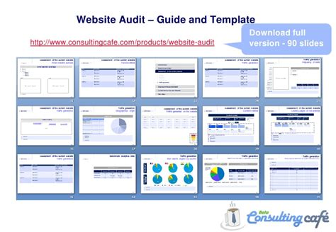 Guide To Website Audit Free Website Audit Template