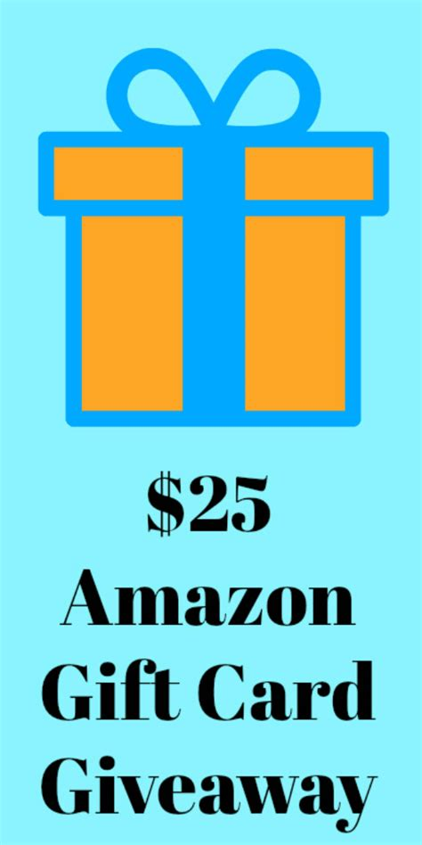 $25 Amazon Gift Card Giveaway | Mama Likes This $25 Gift Card