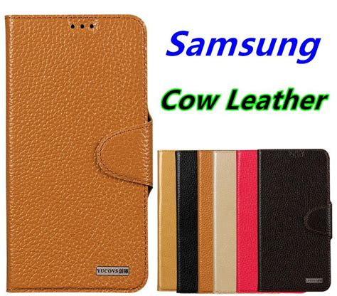 Flip Samsung Galaxy S7 Casing Flipcase Gold cow leather samsung galaxy s7 edge end 11 14 2017 3 45 pm