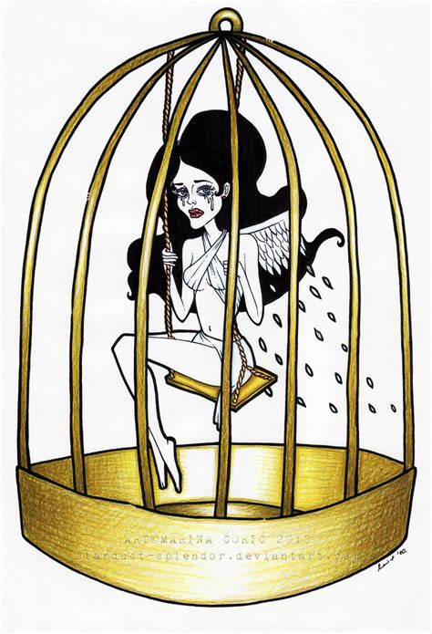 Bird In A Cage like a bird in a cage by stardust splendor on deviantart