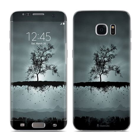 Samsung Galaxy S7 Edge Babyskin Soft Black Matte T2909 samsung galaxy s7 edge skin flying tree black by vlad studio decalgirl