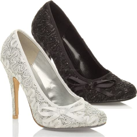 womens wedding evening bridal prom high heel