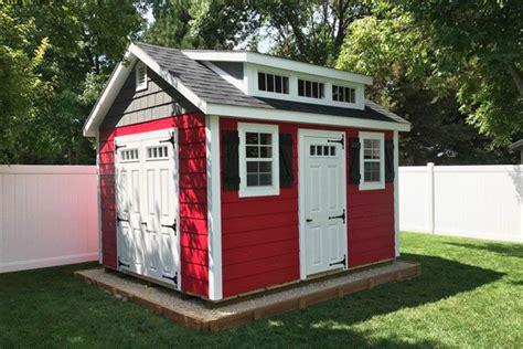 trends  fancy sheds   wooden storage shed