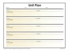unit plan outline template simple unit lesson plan template reading worksheets