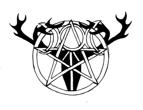 occult tattoo designs for pagan designs