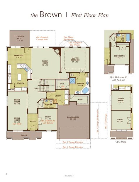 gehan homes brown floor plan home review
