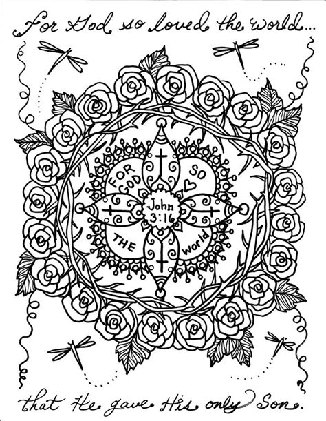 Bible Mandala Coloring Pages | 80 best bible notebook fruit of the spirit images on