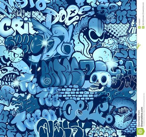 pattern graffiti artists royalty free stock photography seamless graffiti pattern