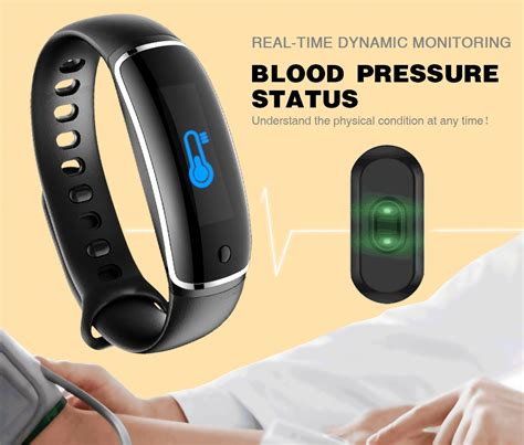Blood Band lynwo m4 health blood pressure band rate monitor