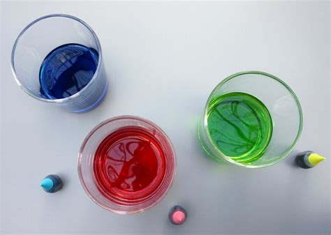 neon food coloring diy dip dye gift tags
