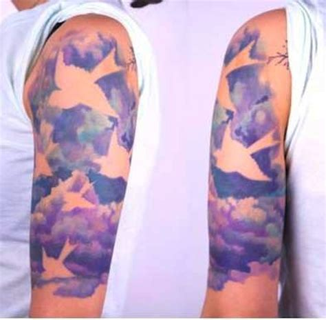 135 most original cloud tattoos